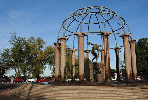 Ciudad Obregon Mexico  city photo : discobolo ciudad obregon sonora mexico