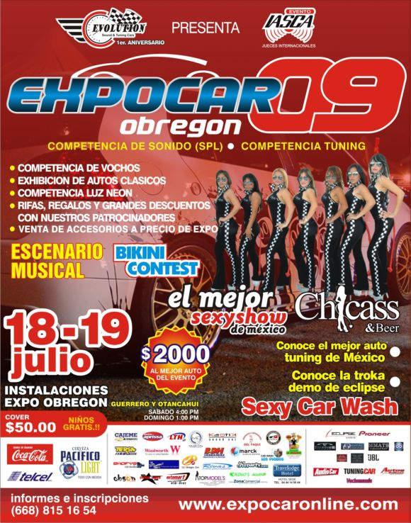 expo car obregon 2009