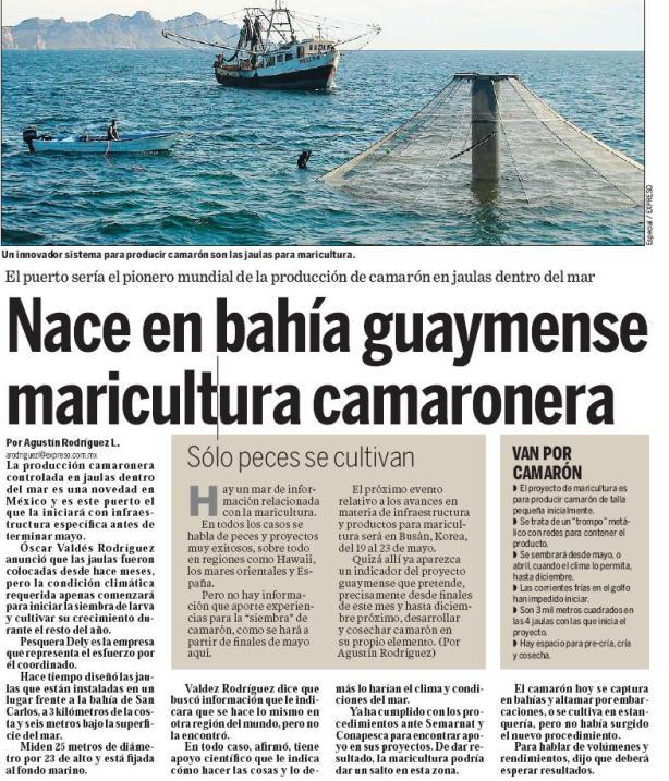 maricultura