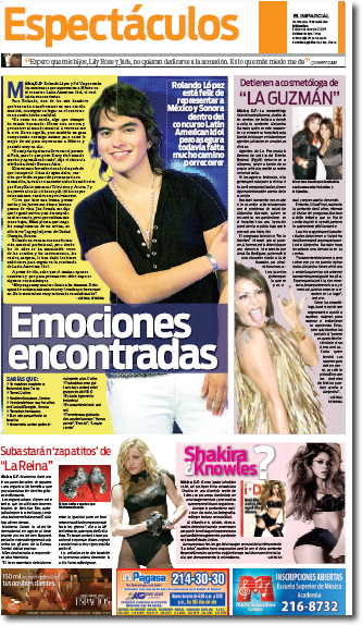 Rolando López Torres Latin American Idol 4