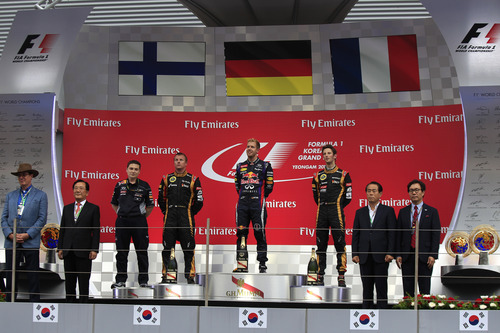 2013 Korean Grand Prix - Sunday