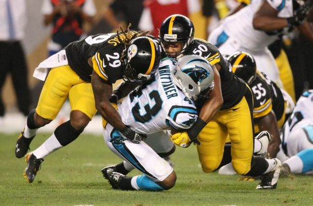 shamarko-thomas-fozzy-whittaker-ryan-shazier-nfl-preseason-carolina-panthers-pittsburgh-steelers-850x560